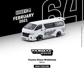 Toyota  - Hiace white - 1:64 - Tarmac - T64-038-WH - TC-T64-038WH | The Diecast Company