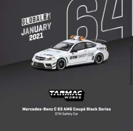 Mercedes Benz  - C63 AMG white - 1:64 - Tarmac - T64G-009-SC - TC-T64G009SC | The Diecast Company
