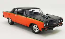 Chevrolet  - Chevelle SS *Drag Outlaws* 1965 orange/black - 1:18 - Acme Diecast - acme1805309 | The Diecast Company