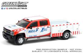 Chevrolet  - Silverado 2018 white/red - 1:64 - GreenLight - 46070D - gl46070D | The Diecast Company