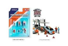 Figures  - Gulf Crew Set.  - 1:64 - American Diorama - 76463 - AD76463 | The Diecast Company
