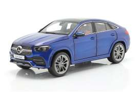 Mercedes Benz  - GLE Coupe 2020 blue - 1:18 - iScale - 1180000051 - iscale1180051 | The Diecast Company