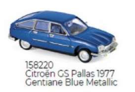 Citroen  - GS Pallas 1977 blue - 1:87 - Norev - 158220 - nor158220 | The Diecast Company