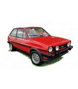 Ford  - Fiesta XR2 1981 red - 1:18 - Norev - 182741 - nor182741 | The Diecast Company