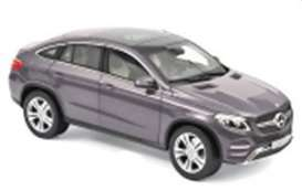 Mercedes Benz  - GLE Coupe 2015 grey - 1:18 - Norev - 183790 - nor183790 | The Diecast Company
