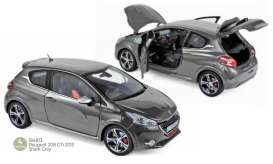 Peugeot  - 208 GTi 2013 shark grey - 1:18 - Norev - 184813 - nor184813 | The Diecast Company