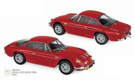 Alpine Renault - A110 1969 red - 1:18 - Norev - 185304 - nor185304 | The Diecast Company