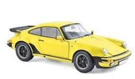 Porsche  - 911 Turbo 3.0 1976 yellow - 1:18 - Norev - 187579 - nor187579 | The Diecast Company