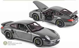 Porsche  - 911 2010 grey - 1:18 - Norev - 187623 - nor187623 | The Diecast Company