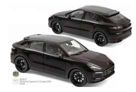 Porsche  - Cayenne 2019 black - 1:18 - Norev - 187673 - nor187673 | The Diecast Company