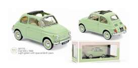 Fiat  - 500L 1968 light green - 1:18 - Norev - 187773 - nor187773 | The Diecast Company