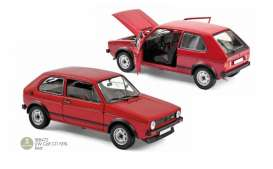 Volkswagen  - Golf GTI 1976 red - 1:18 - Norev - 188472 - nor188472 | The Diecast Company