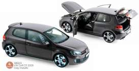 Volkswagen  - Golf GTI 2009 grey - 1:18 - Norev - 188503 - nor188503 | The Diecast Company