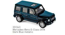 Mercedes Benz  - 2018 dark blue metallic - 1:43 - Norev - 351343 - nor351343 | The Diecast Company