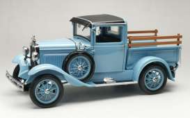 Ford  - Model A pick-up 1931 hessian blue - 1:18 - SunStar - 6117 - sun6117 | The Diecast Company