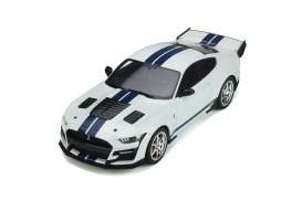 Shelby  - GT500 2020 white - 1:18 - GT Spirit - 306 - GT306 | The Diecast Company