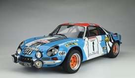 Alpine  - A110 2019 blue/red/white - 1:8 - GT Spirit - GTS800702 - GTS800702 | The Diecast Company