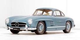 Mercedes Benz  - 300SL 1954 light blue - 1:12 - GT Spirit - GT308 - GT308 | The Diecast Company