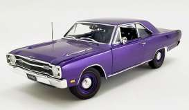 Dodge  - Dart GTS 440 1969 purple - 1:18 - Acme Diecast - 1806406 - acme1806406 | The Diecast Company