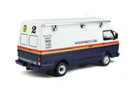 Volkswagen  - T35  1984 white/blue - 1:18 - OttOmobile Miniatures - ot907 - otto907 | The Diecast Company