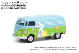 Volkswagen  - Type 2 Panel 2021 green/blue - 1:64 - GreenLight - 30253 - gl30253 | The Diecast Company