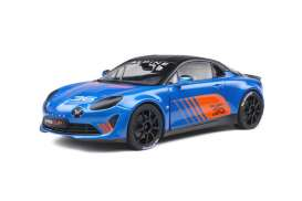 Renault Alpine - A110 blue - 1:18 - Solido - 1801605 - soli1801605 | The Diecast Company