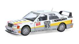 Mercedes Benz  - 190E white/yellow - 1:18 - Solido - 1801008 - soli1801008 | The Diecast Company