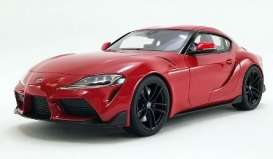 Toyota  - Supra GR 3.0 2021 red - 1:18 - Acme Diecast - US038 - GTUS038 | The Diecast Company