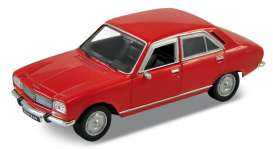Peugeot  - 504 1975 red - 1:34 - Welly - 42394 - welly42394r | The Diecast Company