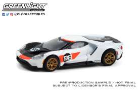 Ford  - GT 2021 white/black - 1:64 - GreenLight - 30244 - gl30244 | The Diecast Company