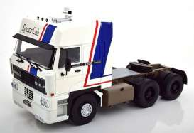 Daf  - 3300 1982 white/blue/red - 1:18 - Road Kings - 180091 - rk180091 | The Diecast Company