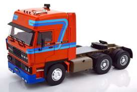 Daf  - 3300 1982 orange/blue - 1:18 - Road Kings - 180094 - rk180094 | The Diecast Company
