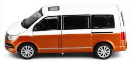 Volkswagen  - T6.1 2020 white/orange - 1:43 - Bburago - 30434G - bura30434 | The Diecast Company