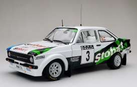 Ford  - Escort RS1800 #3 2008 white/green/blue - 1:18 - SunStar - 4852 - sun4852 | The Diecast Company