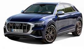 Audi  - SQ8 blue - 1:32 - Bburago - 43054 - bura43054 | The Diecast Company