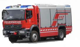 Mercedes Benz  - Atego red/grey - 1:50 - Bburago - 32019 - bura32019 | The Diecast Company