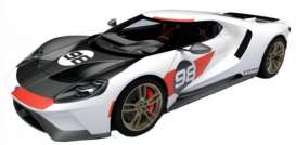 Ford  - GT white/red/black - 1:32 - Bburago - 41165 - bura41165 | The Diecast Company