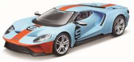 Ford  - GT blue/orange - 1:32 - Bburago - 41164 - bura41164 | The Diecast Company