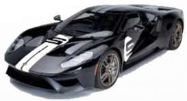 Ford  - GT black/white - 1:32 - Bburago - 41162 - bura41162 | The Diecast Company