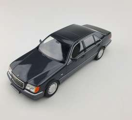 Mercedes Benz  - S500 1994 dark grey - 1:18 - iScale - 1180000048 - iscale1180048 | The Diecast Company
