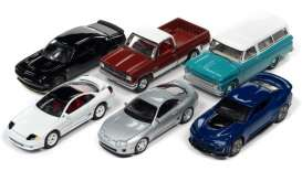 Assortment/ Mix  - various - 1:64 - Auto World - 64302A~6 - AW64302A | The Diecast Company