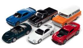 Assortment/ Mix  - various - 1:64 - Auto World - 64302B~6 - AW64302B | The Diecast Company