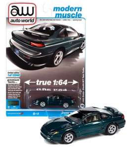 Dodge  - Stealth 1992 green - 1:64 - Auto World - SP063B - AWSP063B | The Diecast Company