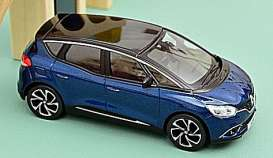 Renault  - Scenic 2016 blue/black - 1:43 - Norev - 517733 - nor517733 | The Diecast Company