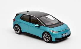 Volkswagen  - ID 3 2020 turquoise - 1:43 - Norev - 840167 - nor840167 | The Diecast Company