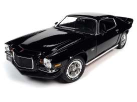 Chevrolet  - Camaro 1971 black - 1:18 - Auto World - AMM1250 - AMM1250 | The Diecast Company