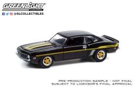 Chevrolet  - Camaro 1969 black - 1:64 - GreenLight - 39070B - gl39070B | The Diecast Company