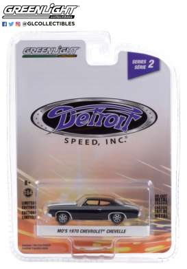 Chevrolet  - Camaro 1970 black - 1:64 - GreenLight - 39070D - gl39070D | The Diecast Company