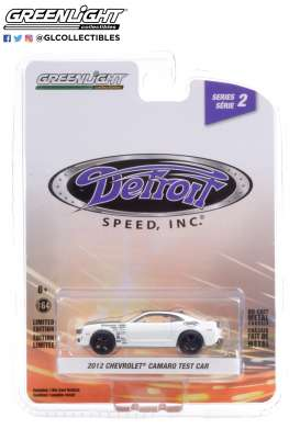 Chevrolet  - Camaro 2012 white - 1:64 - GreenLight - 39070F - gl39070F | The Diecast Company