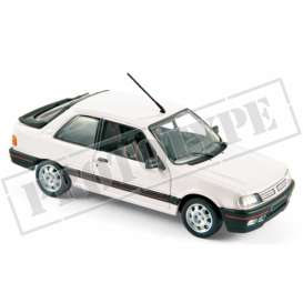 Peugeot  - 309 1987 white - 1:43 - Norev - 473909 - nor473909 | The Diecast Company